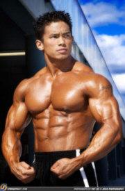 Bodybuilder Stan Mcquay