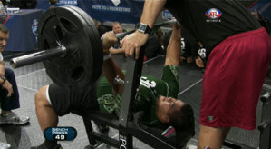 Maxing out with Bench Press