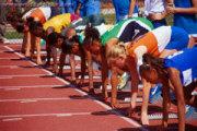 Start of Track Race
